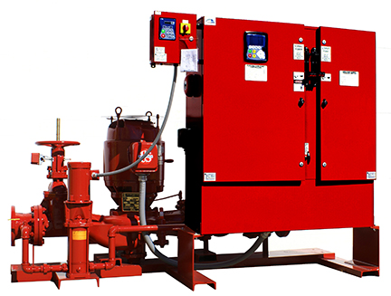 1580 Series ConfiguPac in-line fire pump