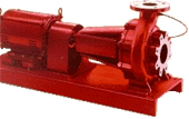 2000 Series end-suction fire pump