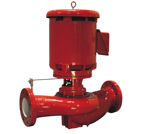 1580 Series vertical in-line fire pump