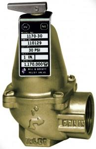 ASME Relief Valve Model 1170