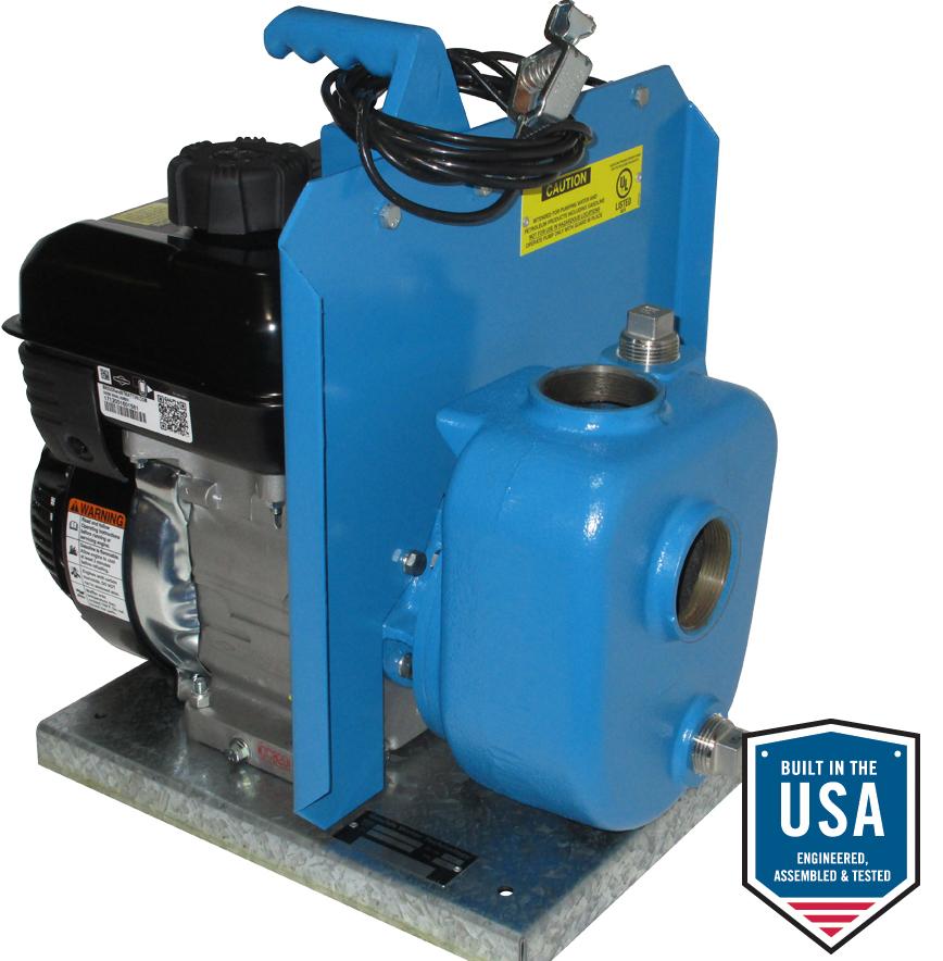 2am32 P Gasoline Engine Driven Self Priming Petroleum Pump