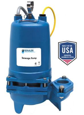 2WD/3WD 2″/3″ Non-Clog Sewage Pumps
