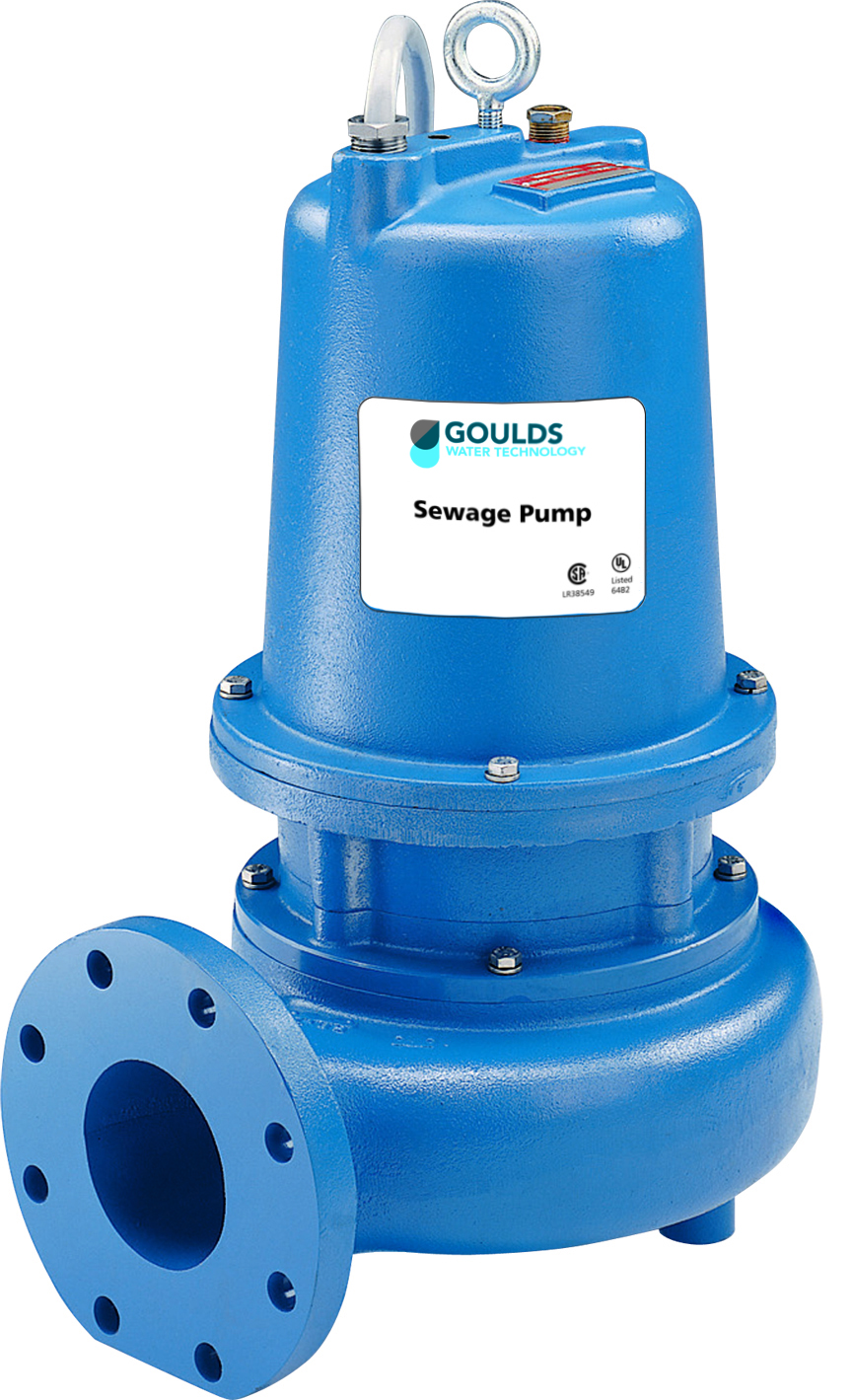 3888D4 – WS_D4 Series Sewage Pumps