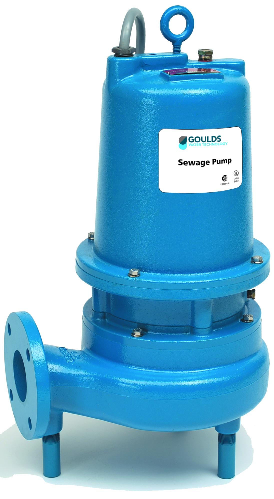 3888D3 – WS D3 Series Sewage Pumps