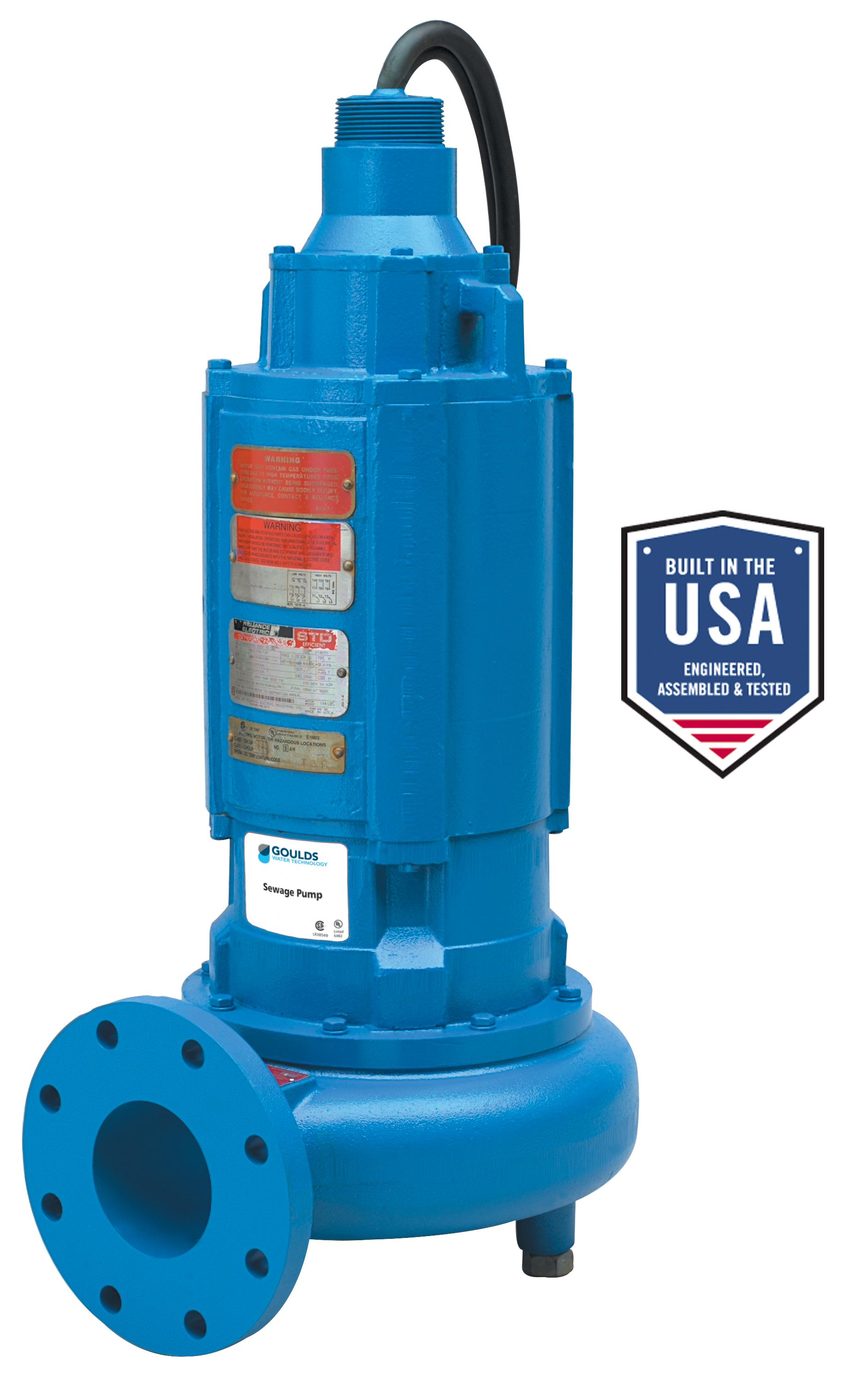 4sdx Explosion Proof 4 Sewage Pump Xylem Applied
