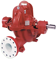 9100 Series horizontal split case fire pumps | AC Fire Pump