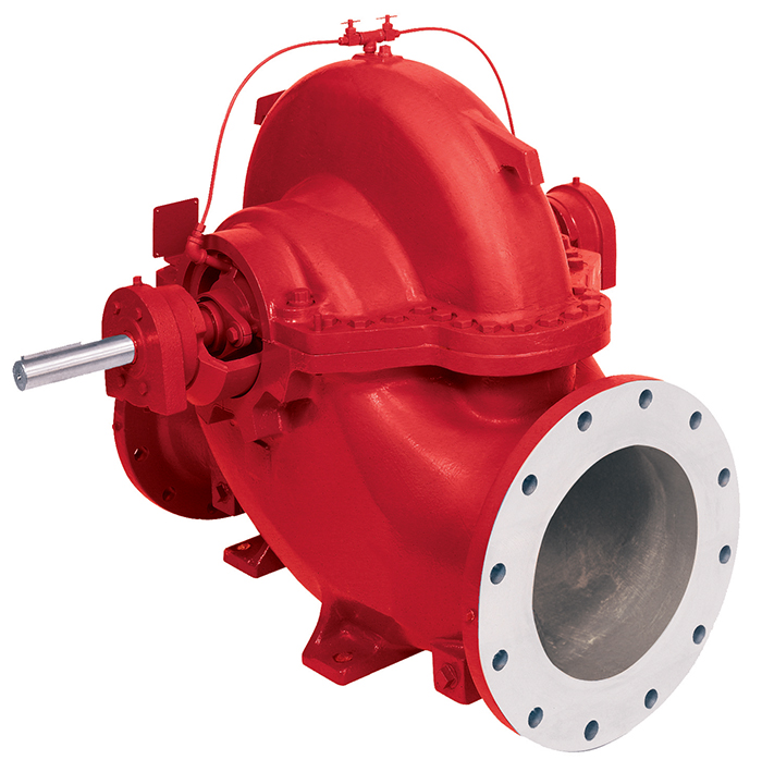 8100 series horizontal split case fire pumps