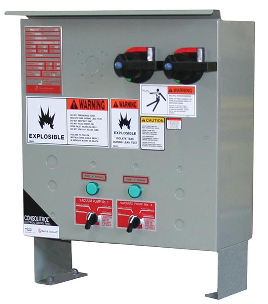 B&G Domestic Pump Series Consolitrol Control Panel_600