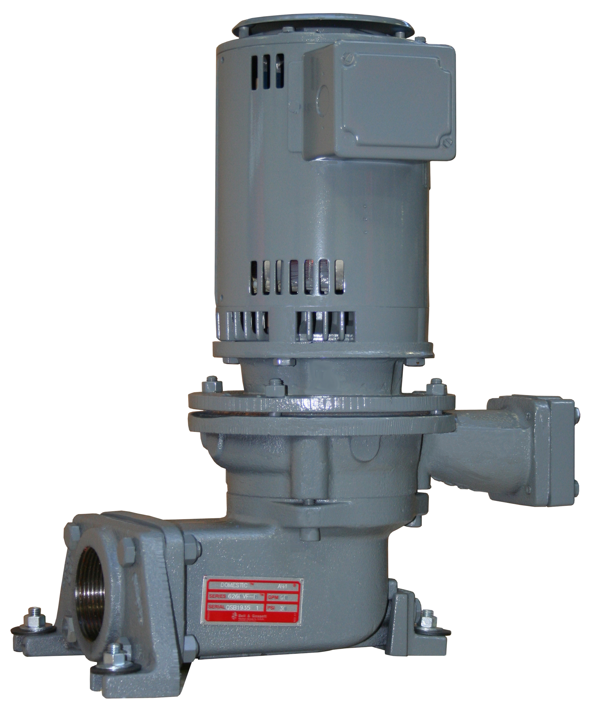 B&G Domestic Series B35 Pump Style PVF-B