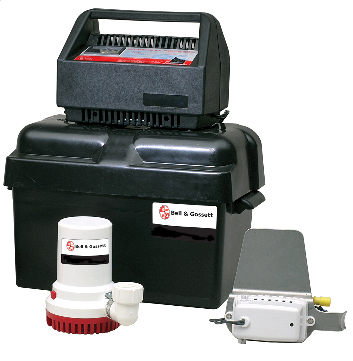 B&G Wastewater Battery Backup Sump Pump BBSP