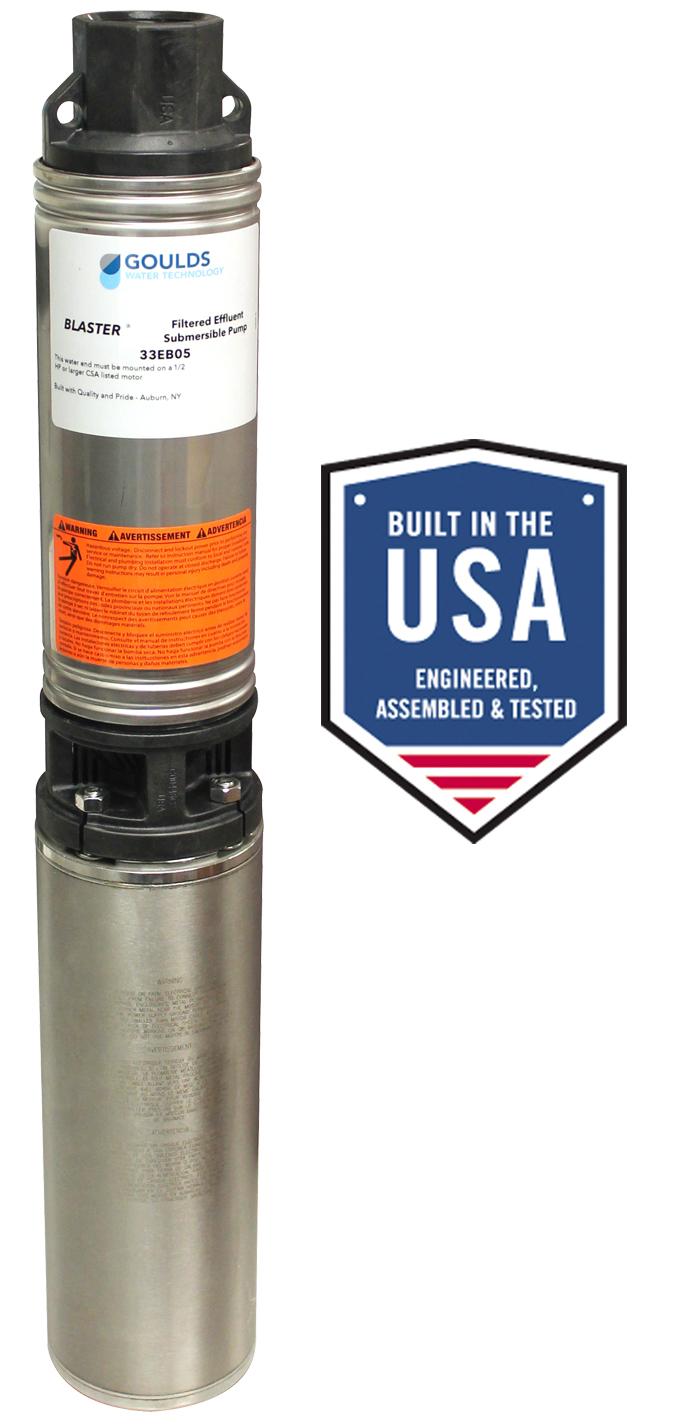 Blaster Filtered Effluent Pump Xylem Applied Water