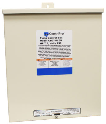 Control Boxes for 6″ Submersible Pumps