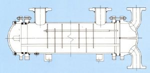 Marine CPK – removable bundle, packed floating tubesheet shell & tube heat exchanger