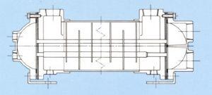 Marine HCF – copper alloy shell & tube heat exchanger