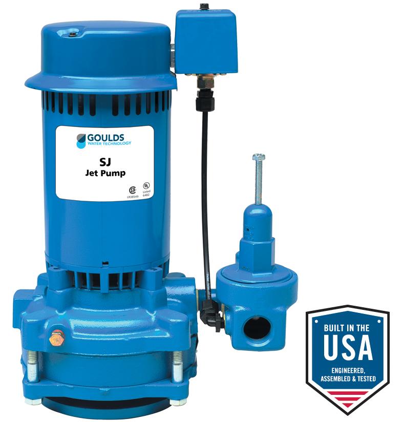 Deep Well Water Pump Wiring Diagram : Sj deep well jet pumps xylem applied water systems