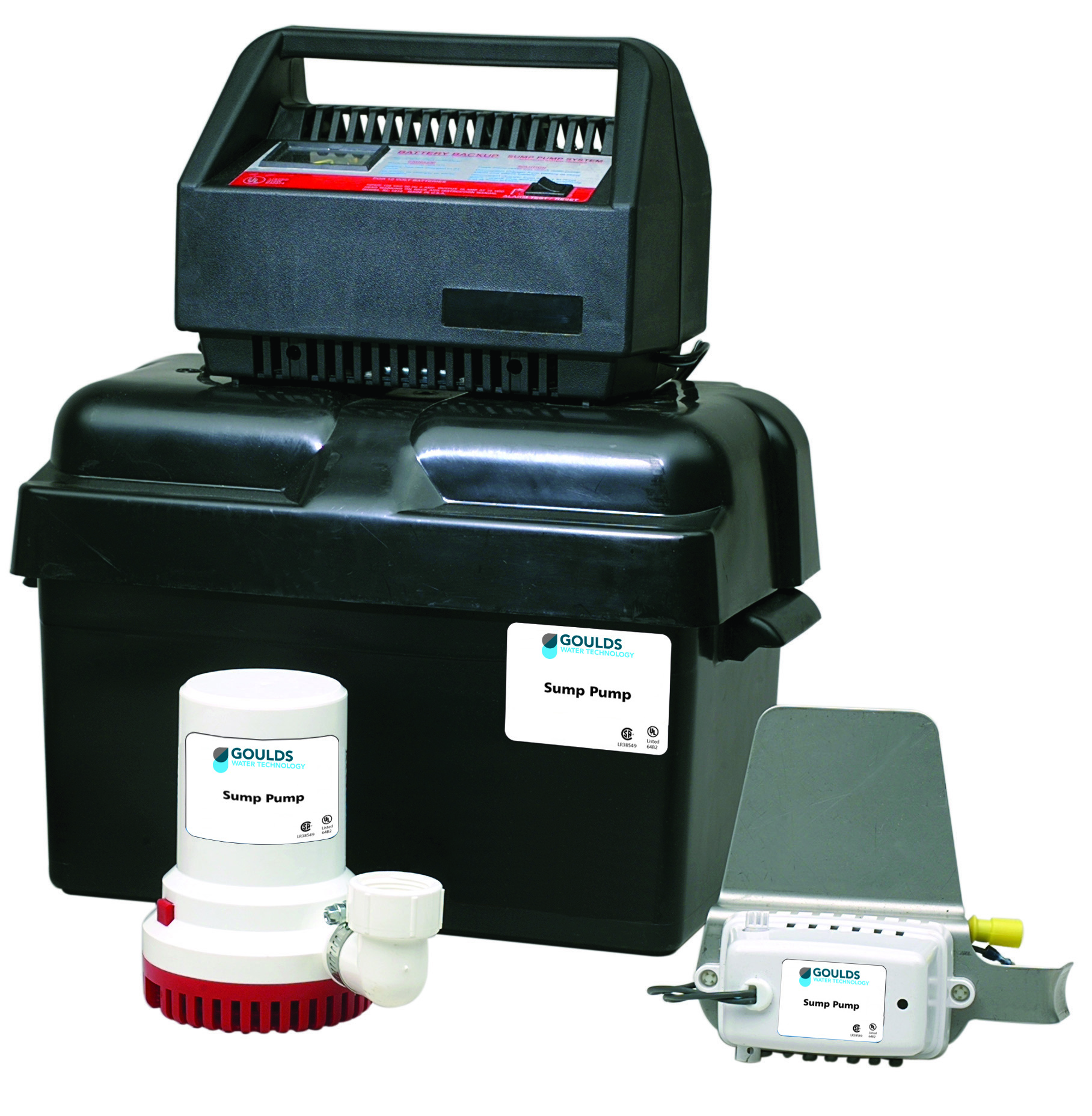 Sump Pump Systems : Spbb battery backup system xylem applied water systems