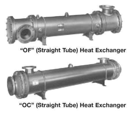 Large Straight Tube Heat Exchangers