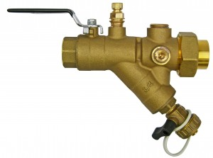 Model UBY Integrated Ball Shutoff Valve/Y Strainer