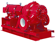 Series VSX Space Saving Double Suction Centrifugal Pumps