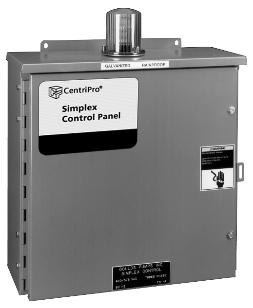 Build Your Own Over 7.5 hp: W3 Series Simplex Wastewater Control Panels – BCPW3P