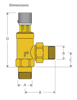 Db 3 4 Differential Bypass Valve Xylem Applied Water