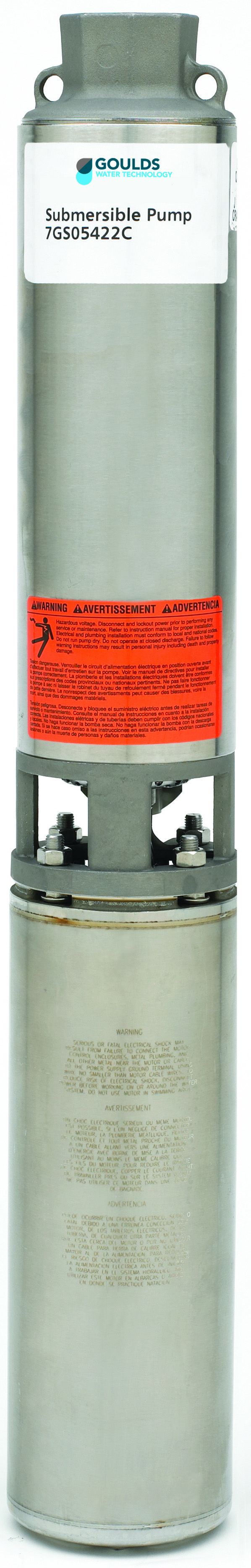 GS Pump 5-25 Range (1/2 to 5 HP) Standard Capacity