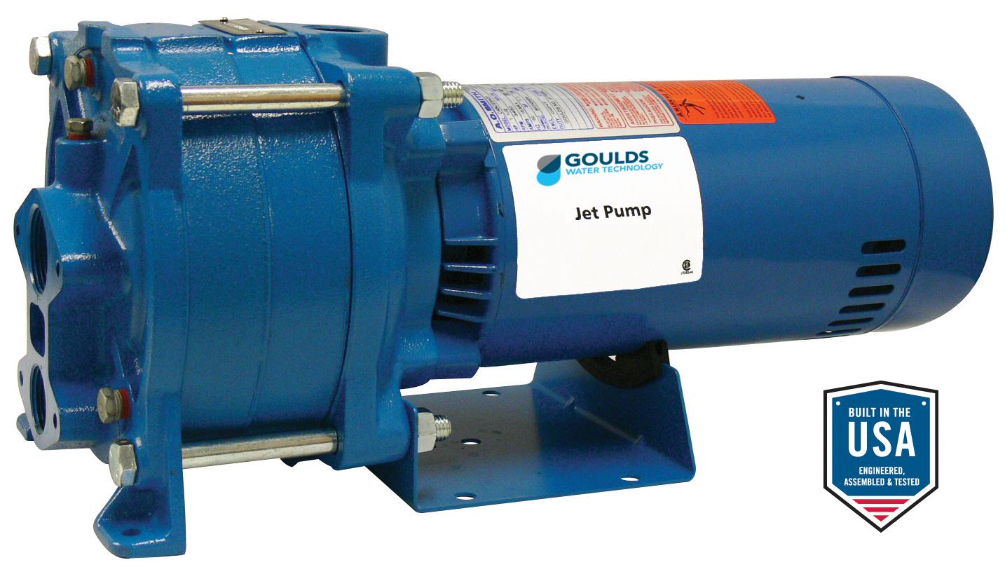 HSJ Horizontal Multi-Stage Jet Pump - Xylem Applied Water
