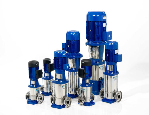 e-SV Series Stainless Steel Vertical Multi-Stage Pumps
