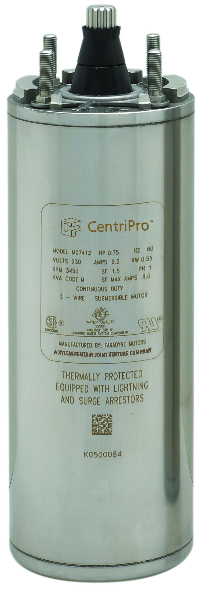 CentriPro 4″ Submersible Motors