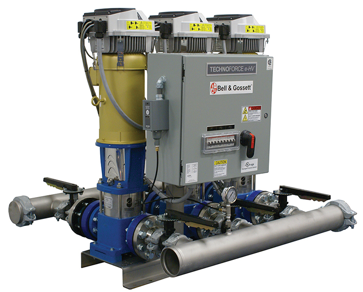 Pressure Booster Systems : Technoforce e hv xylem applied water systems united states