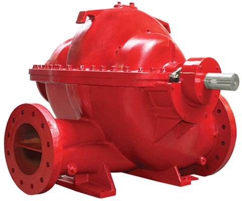8150 Series horizontal split case fire pumps