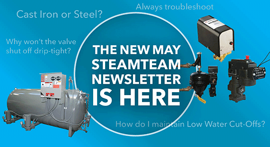 bell gossett a xylem brand manufacturer s website steamteam newsletter
