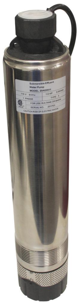 20ae 4 Aerobic Stainless Steel Submersible Effluent Pump