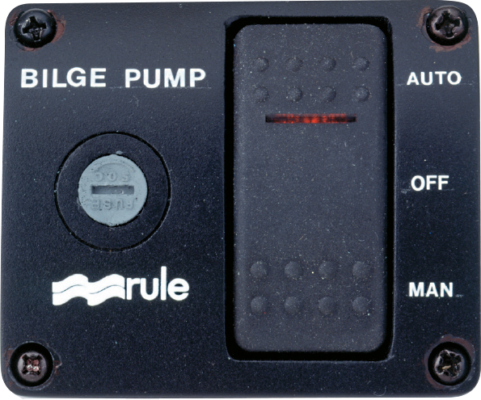 3-Way Panel with Lighted Rocker Switch