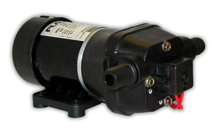 Quad DC Pressure Controlled Pump