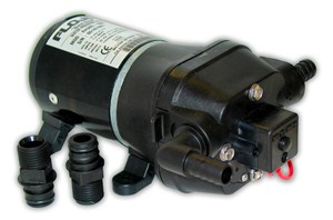 Quad DC Water System Pumps