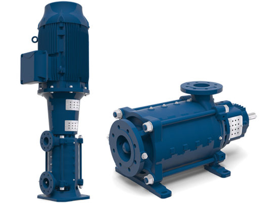e-MP Multistage Ring Section Pump