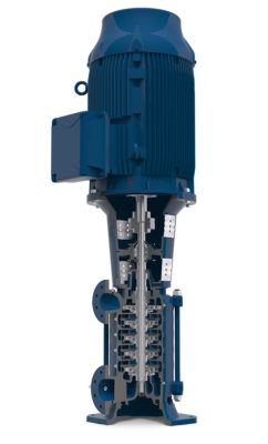 e-MP Multistage Ring Section Pump - Xylem Applied Water ...
