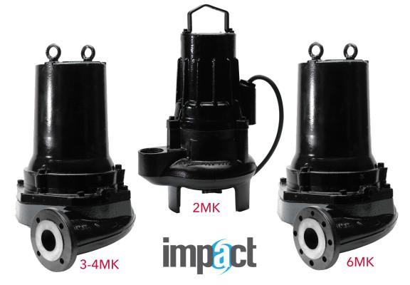 Submersible Self Cleaning Sewage Pump – Impact 2MK, 3MK, 4MK, 6MK – OBSOLETE