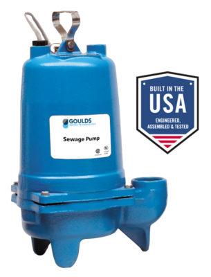 3886 – WS Series Sewage Pumps
