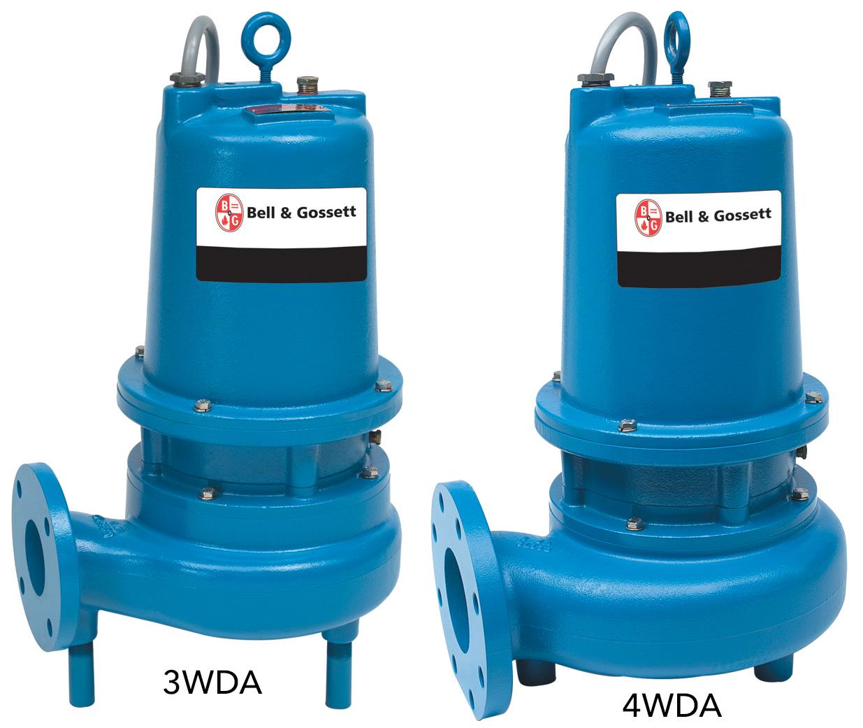 Bell and Gossett 3WDA-4WDA submersible pumps