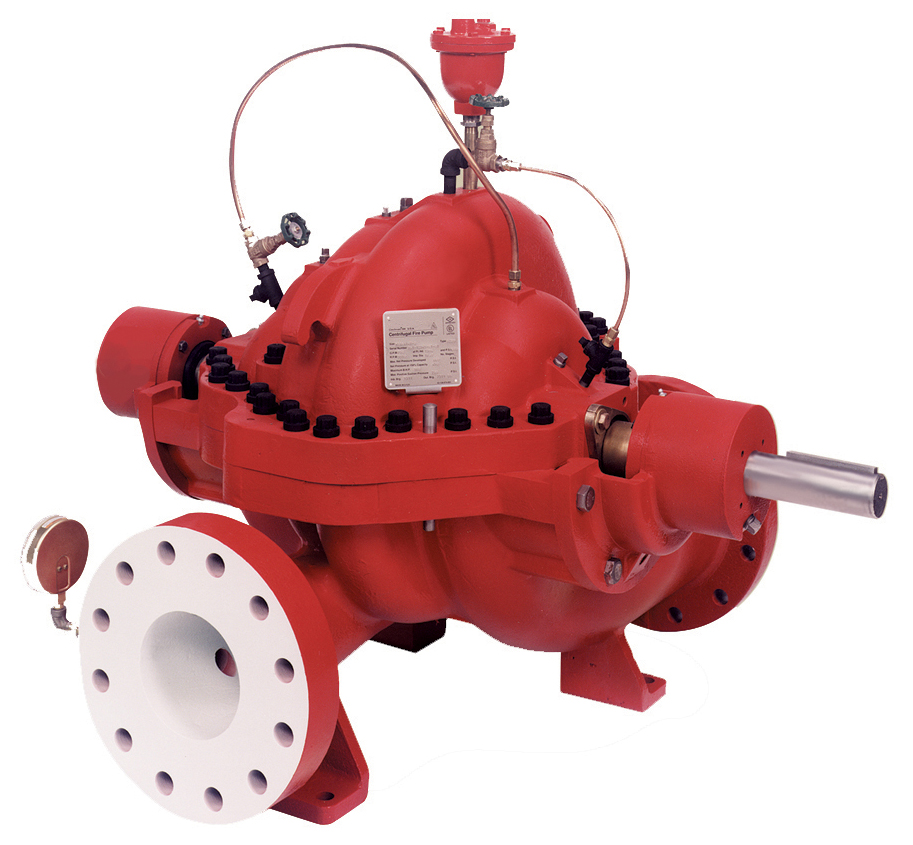 8200 Series horizontal split case fire pumps