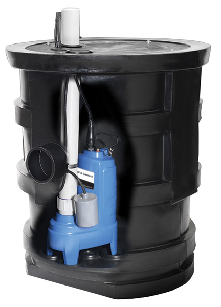 MWP Series Package System with 23 x 30 basin