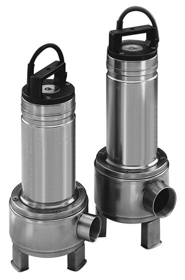 1DV/2DV (1 1/2″ & 2″) Sewage Pumps