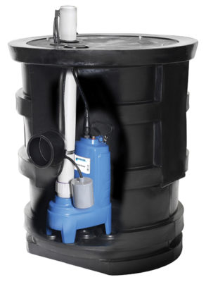 GWP – Plumber Wastewater Package Systems – with PS and PV Pumps Pump/Basin Packages
