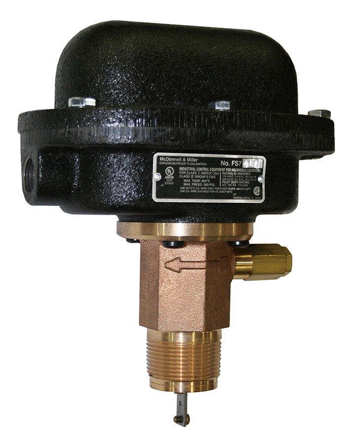Series FS7-4E Industrial Liquid Flow Switches
