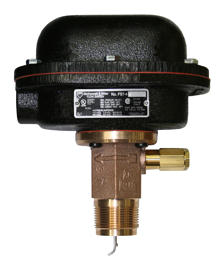 Series FS7-4W Industrial Liquid Flow Switches