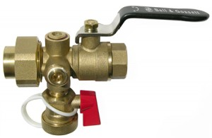 Tank Purge Valve for Non-Potable Water