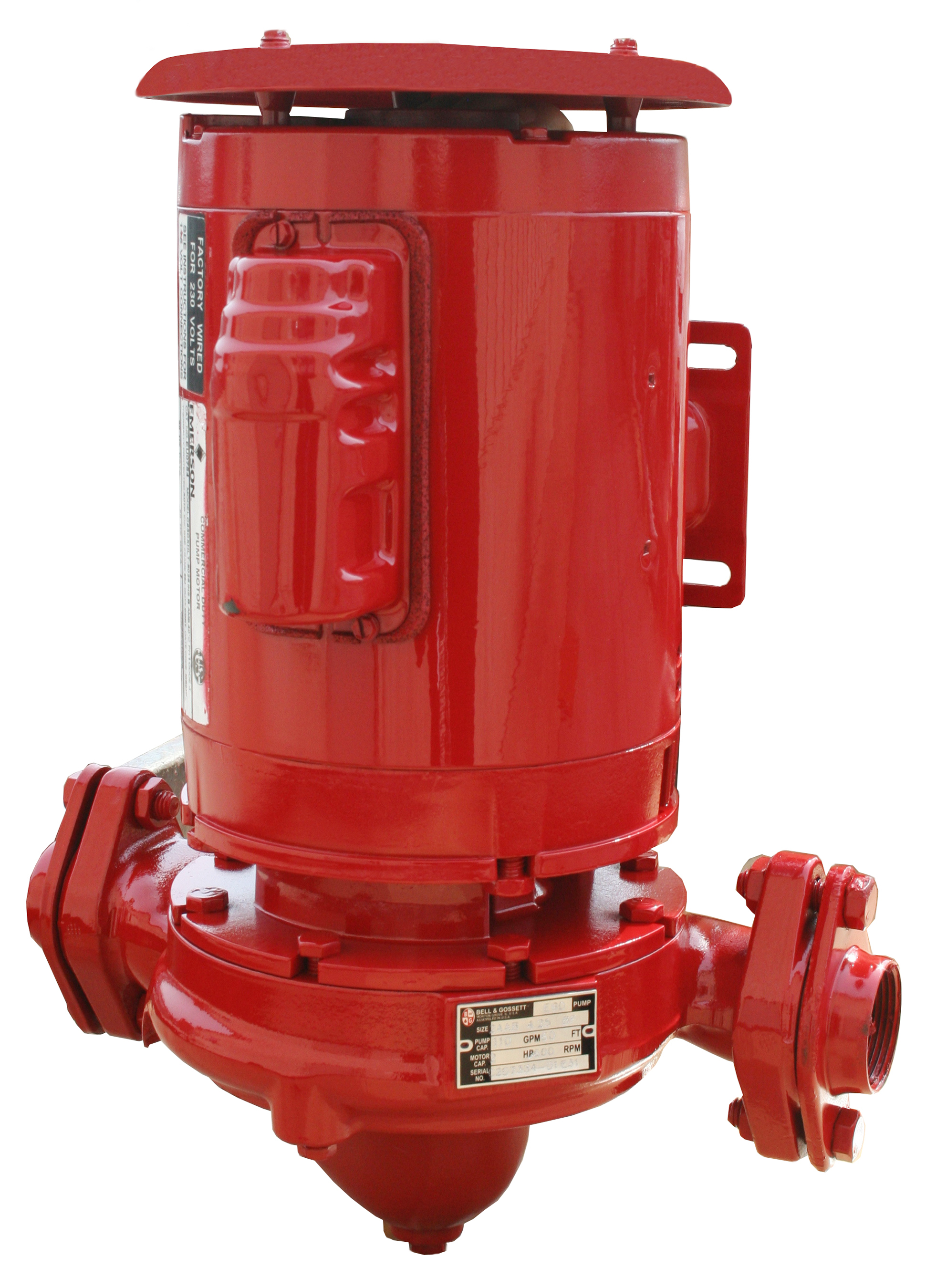 Series e-90 Small Close Coupled In-Line Centrifugal Pumps