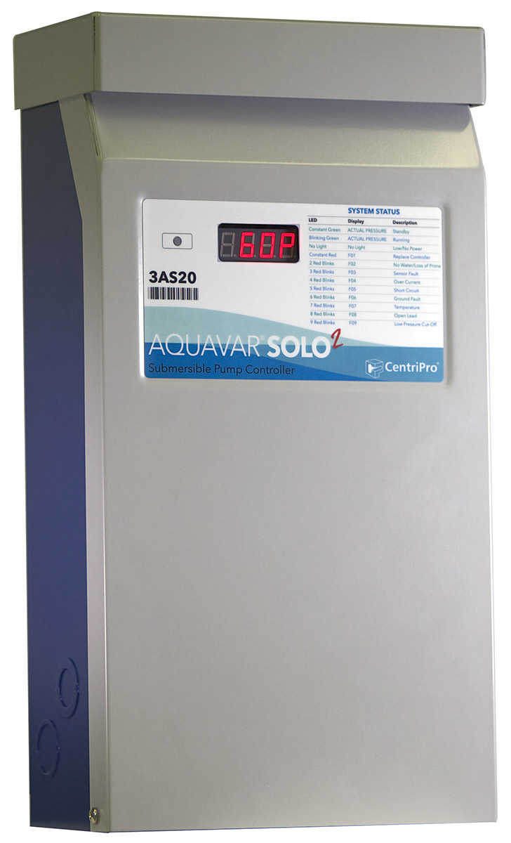 Aquavar Solo 2 Xylem Applied Water Systems United States Borehole Pump Control Box Wiring